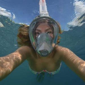 Full face mask+ built in snorkel/h